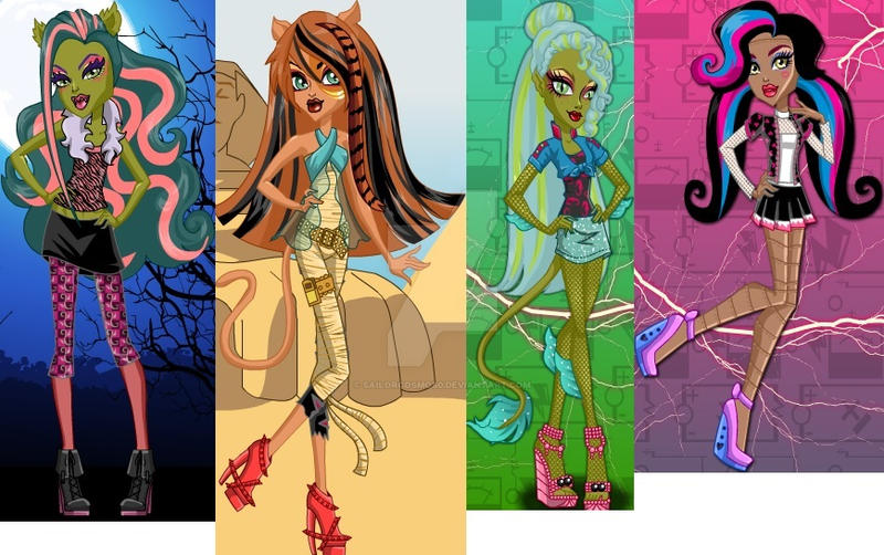 Monster High Freaky Fusion 20 By Sailorcosmos0