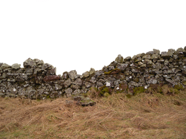 Stone Wall cutout, png Stock 2 by Meta-Stock