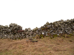 Stone Wall cutout, png Stock 2
