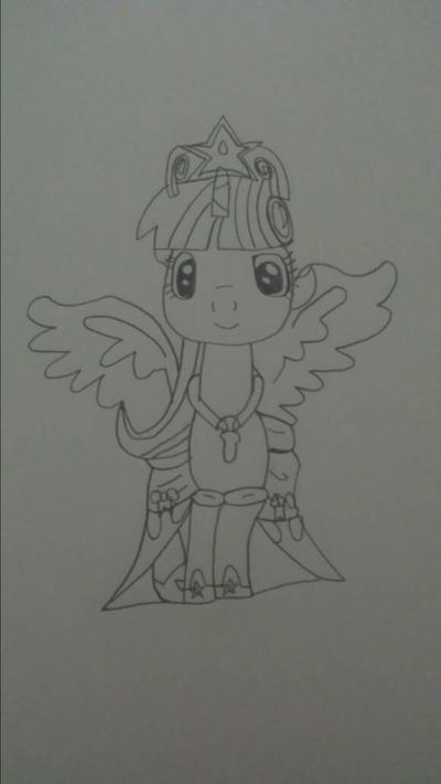 Post Season 4 Book Horse Sketch by AnonymousRainboom
