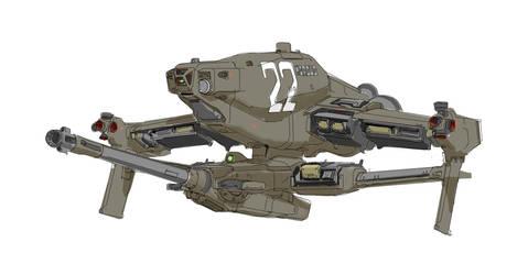 Morsus Gunship