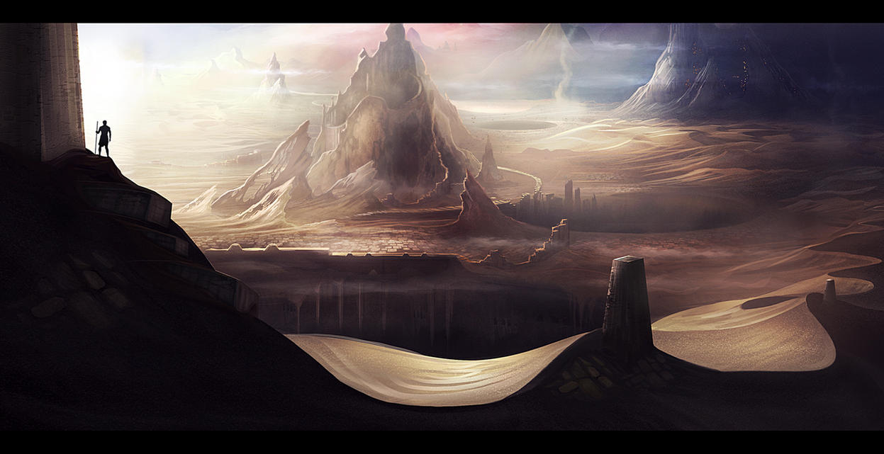 Dunes by nilTrace