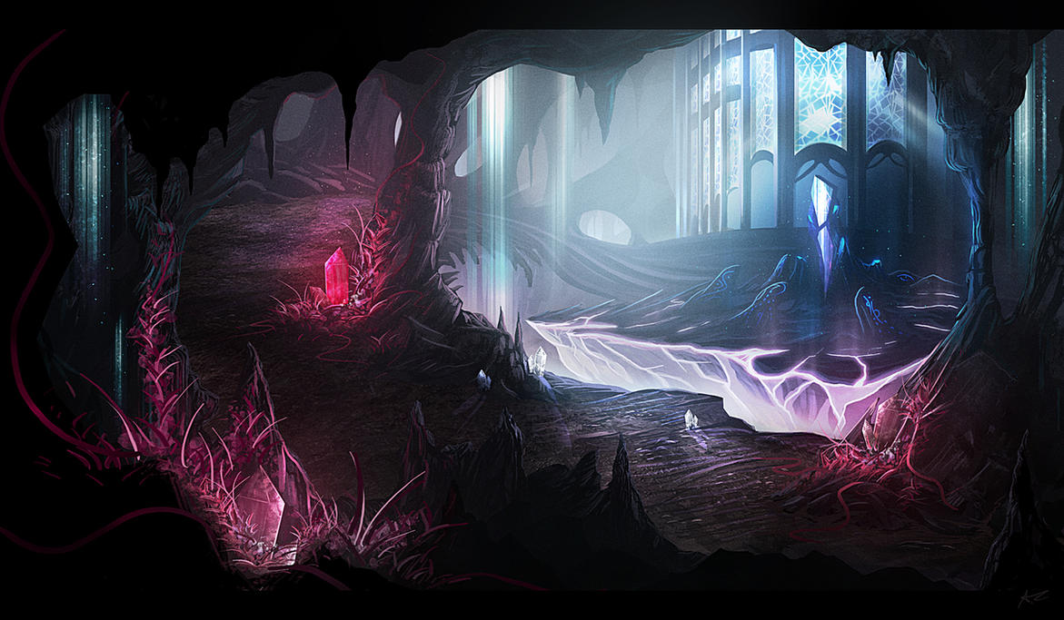 Caves by nilTrace