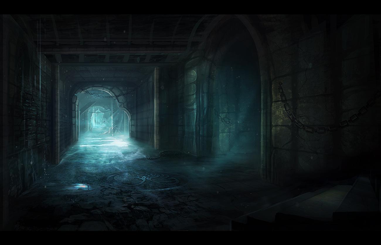 dungeon passage by alynspiller on deviantart