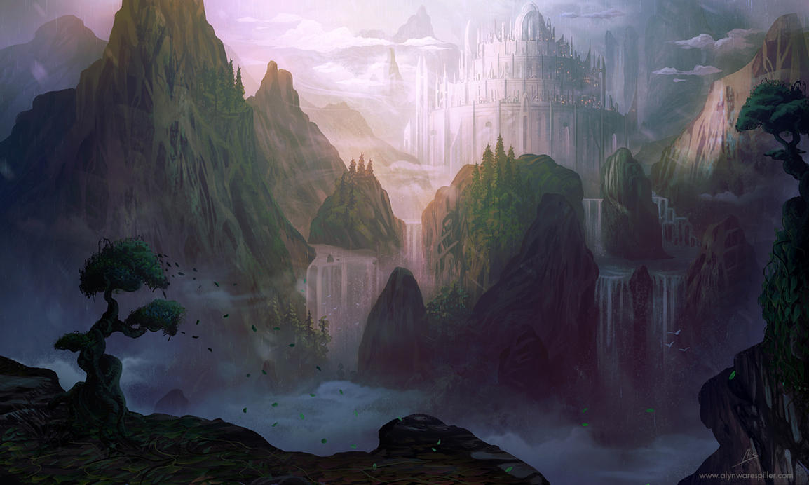 Valley Citadel by AlynSpiller