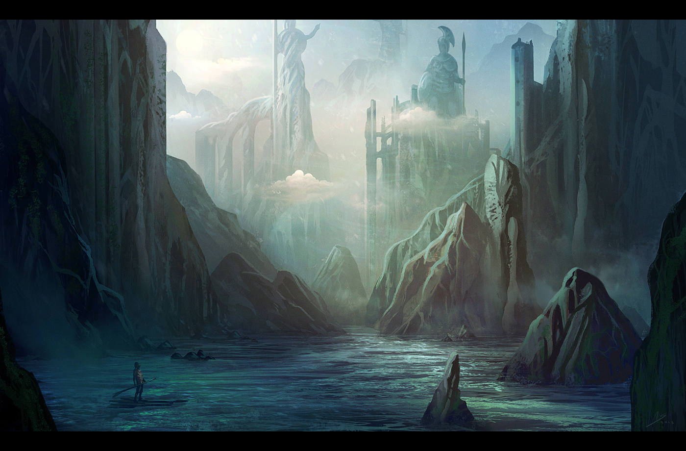 Adrift by nilTrace