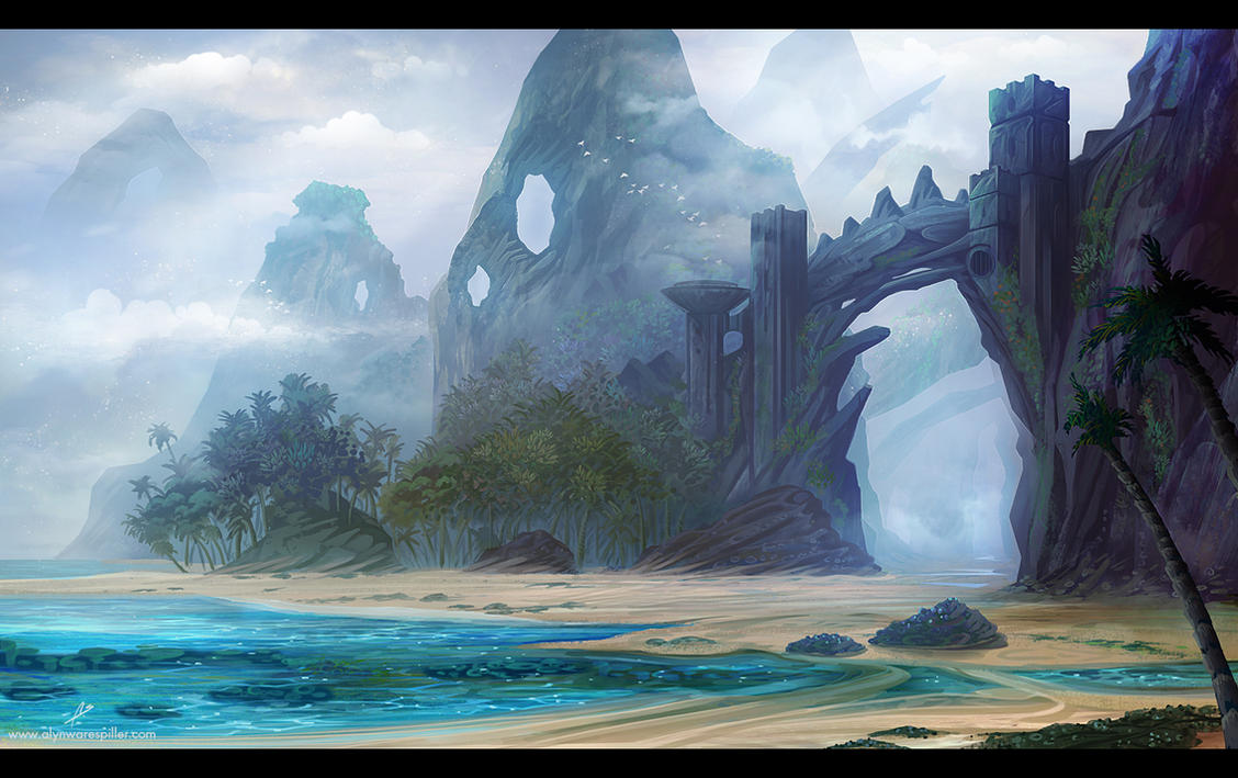 Island Ruins by nilTrace