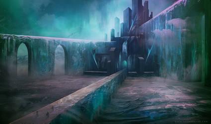 Frozen Keep by AlynSpiller