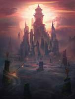 Sky Temple by AlynSpiller