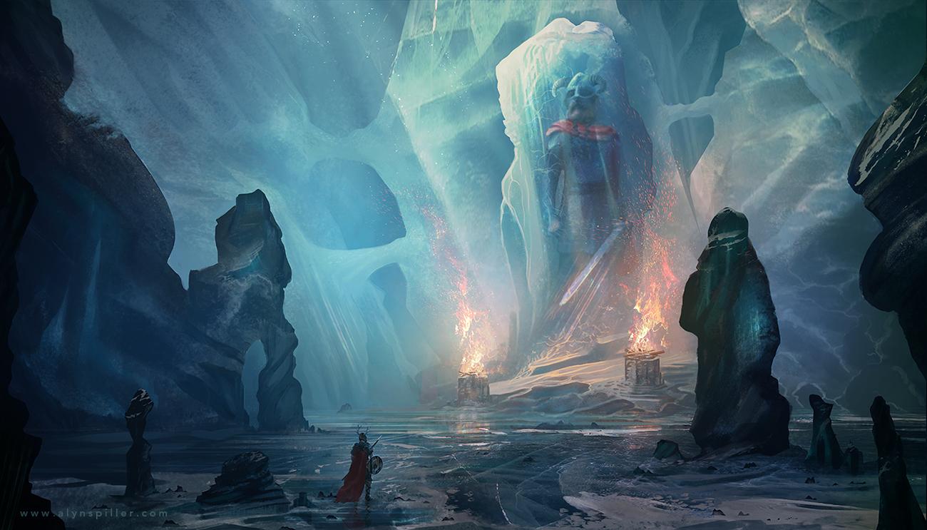 Icebound by AlynSpiller