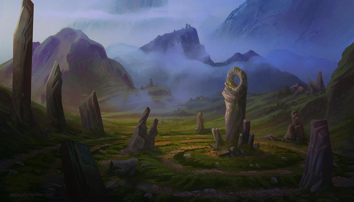 Ruins by AlynSpiller