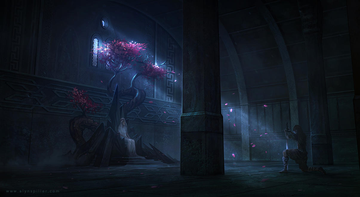 Throne Room by AlynSpiller