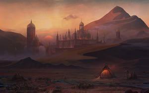 Desert by AlynSpiller