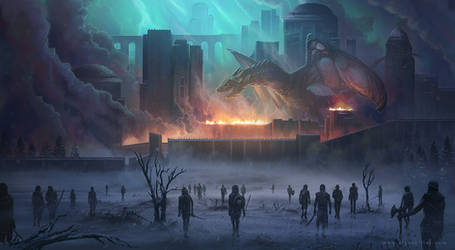 Game of Thrones fan art by AlynSpiller