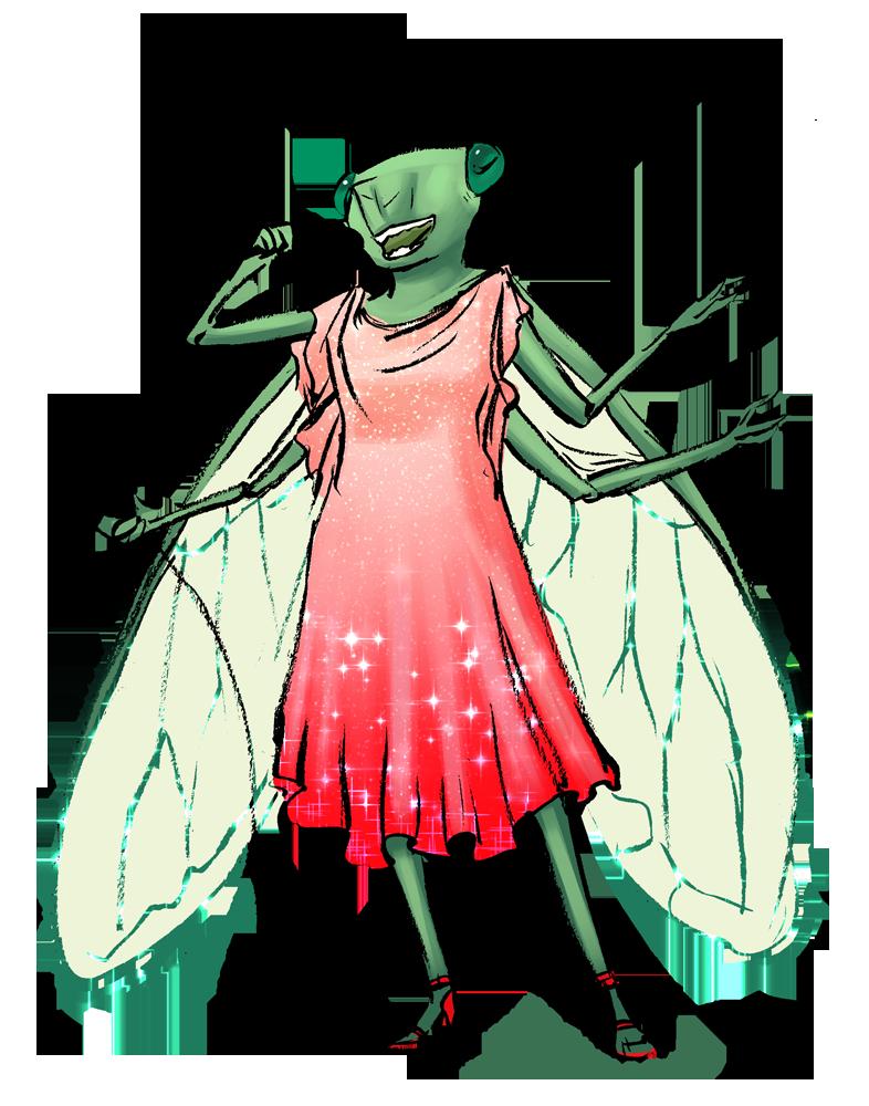30 Day Monster Girl Challenge: Bug Girl by Jadiekins