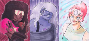 Crystal Gems by Jadiekins