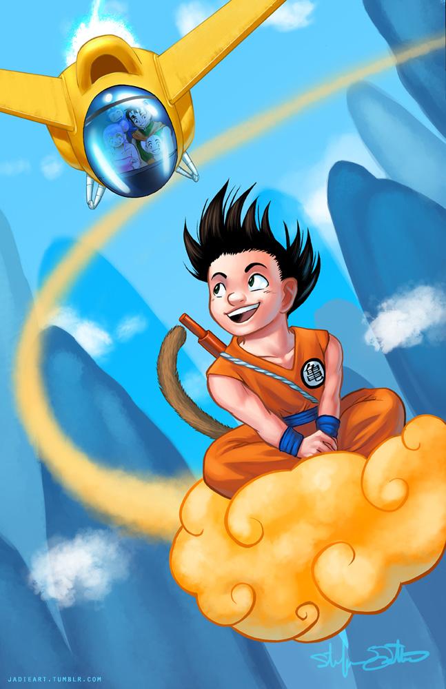 Dragon Ball by Jadiekins