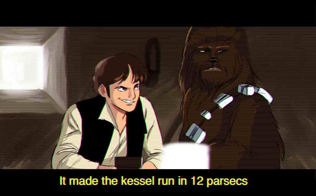 Kessel Run by Jadiekins