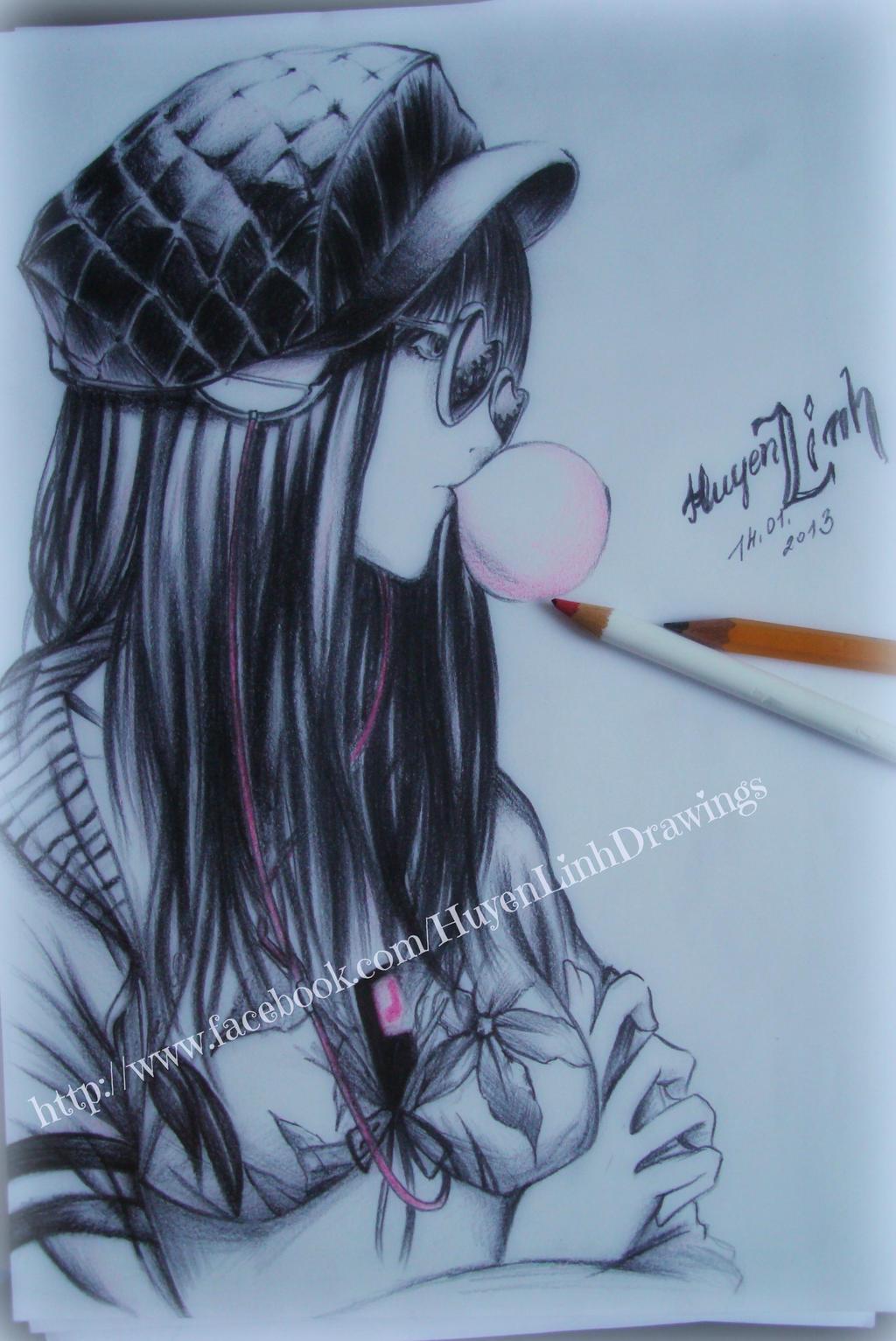 Drawing of Sawasawa by Huyen-Linh