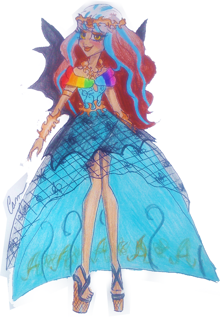 The gallery for monster high 13 wishes coloring pages wisp for Monster high coloring pages 13 wishes