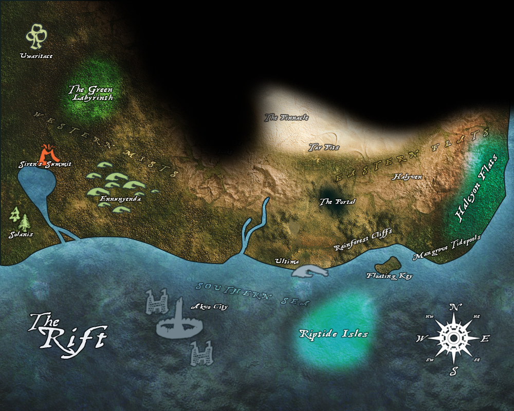 Map of the Rift
