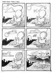 2.Oswald Reads Under A Tree by HulkYoda