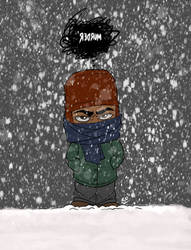 Snow Day by HulkYoda