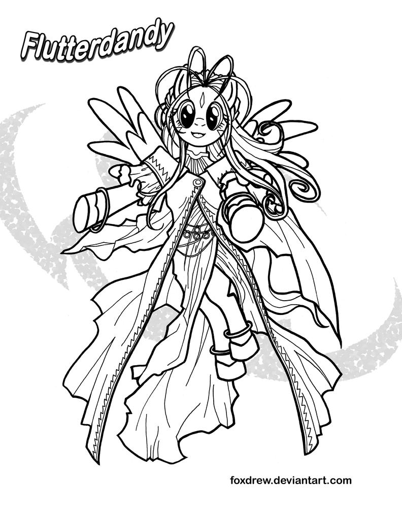 My little pony coloring pages hasbro photograph flutterdan for Hasbro coloring pages
