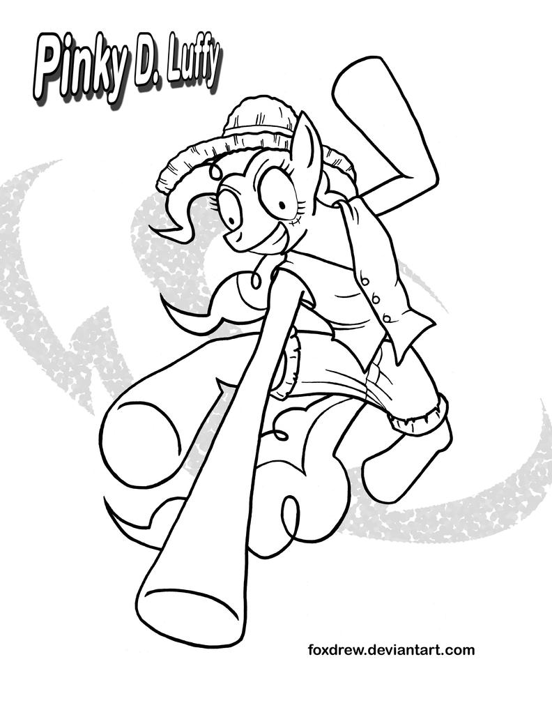 Pinky Pie Coloring Page