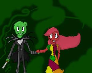 FlippyxFlaky as Jack and Sally