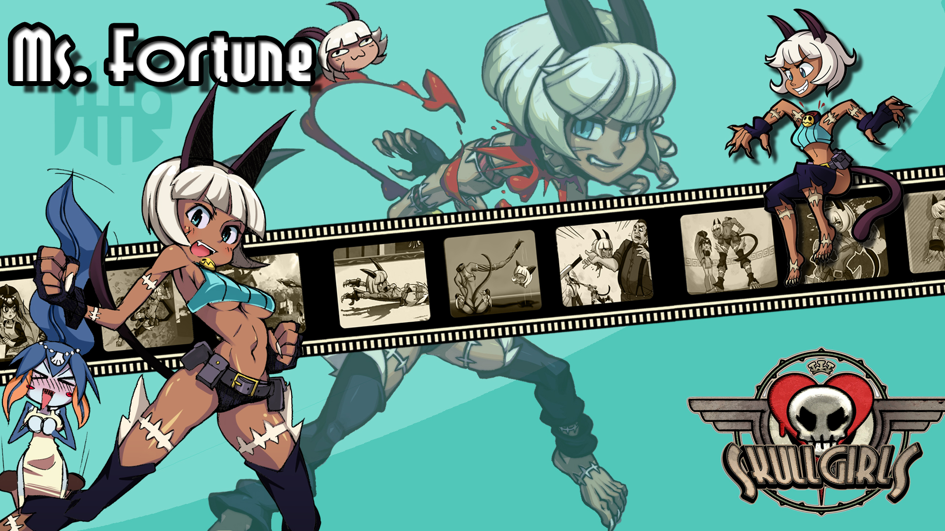 Skullgirls Ms Fortune Wallpaper By Ariff78 On Deviantart
