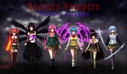Rosario Vampire: Brightest Darkness Saga Cover