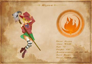 Character Sheet - Alyssa