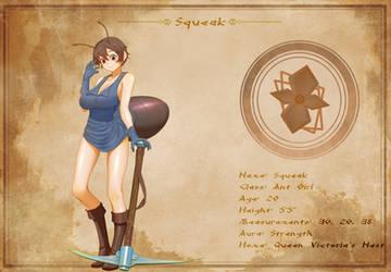Character Sheet - Squeak