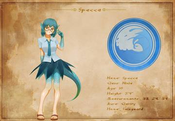 Character Sheet - Specca