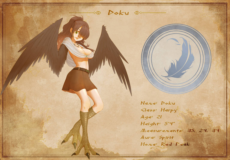 Character Sheet - Doku