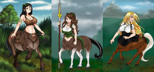 The Centaurs of Eden by AG-Publishing