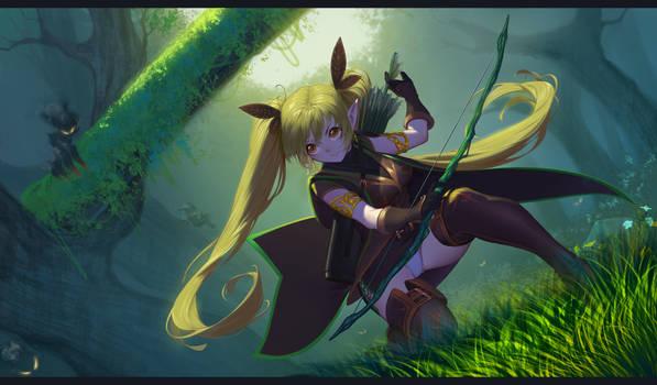Chronicles of Eden - Clover the Huntress