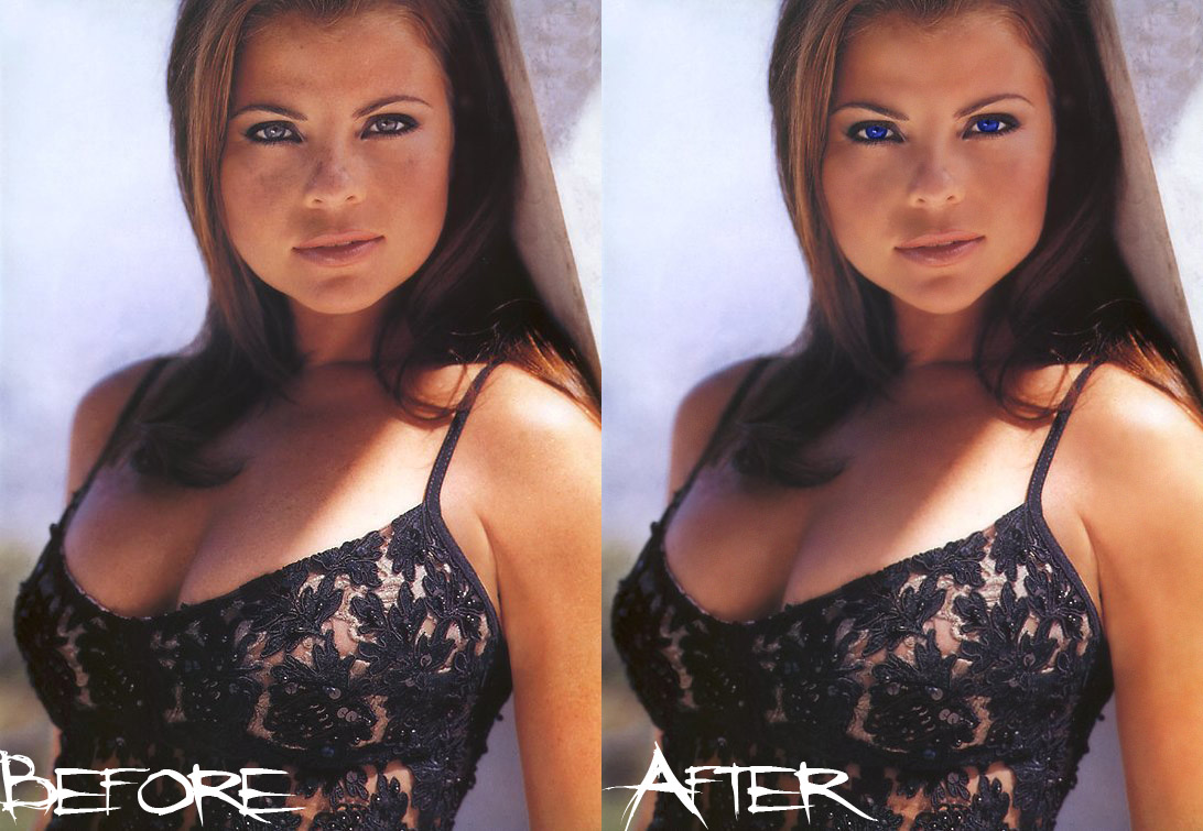 Yasmine Bleeth Before and Afte by TheDeviant426Yasmine Bleeth Nose Before After