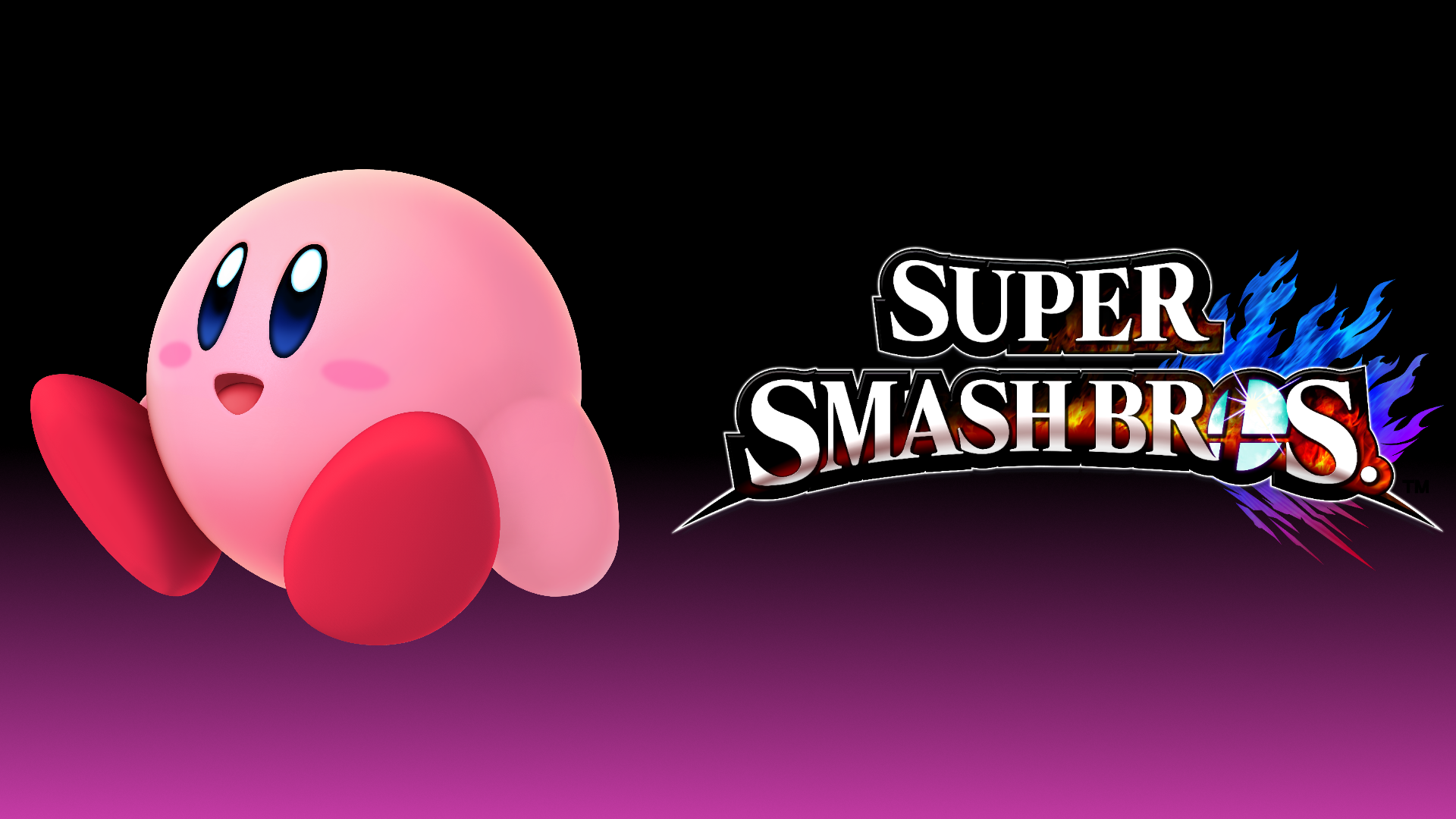 Kirby Super Smash Bros Super Smash Bros. 4 Wa...