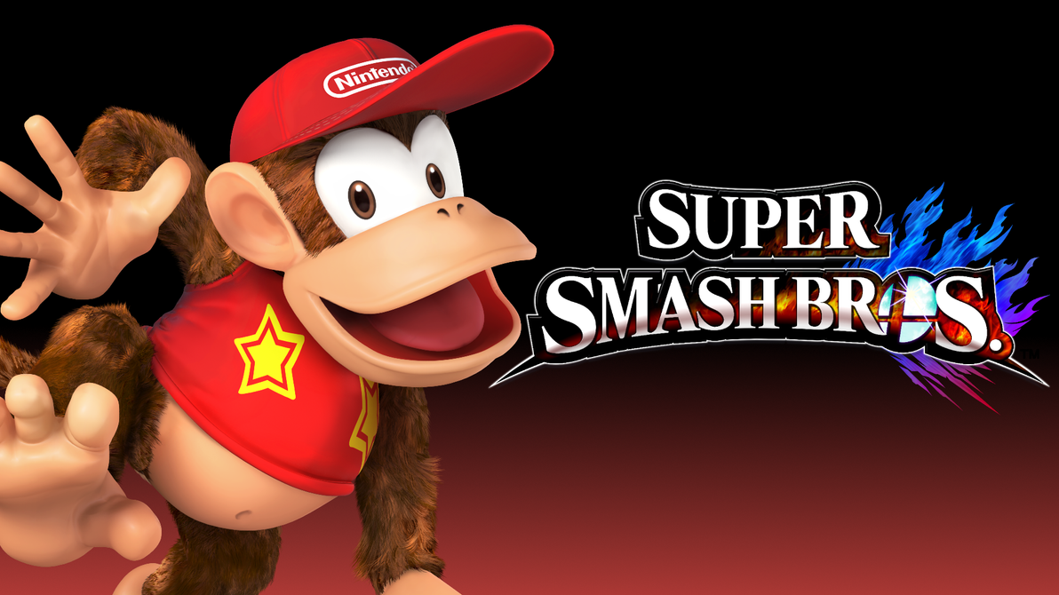 Super Smash Bros. 4 Wallpaper - Diddy Kong by ...