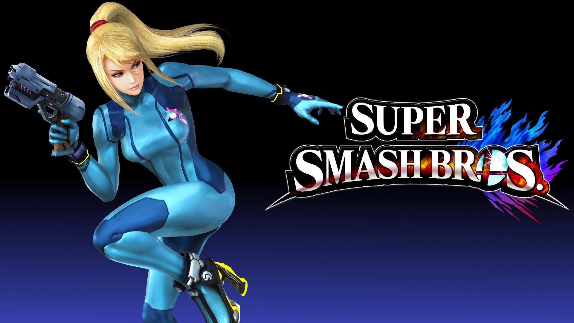 Super Smash Bros 4 Wallpaper Zero Suit Samus By Thewolfgalaxy On Deviantart