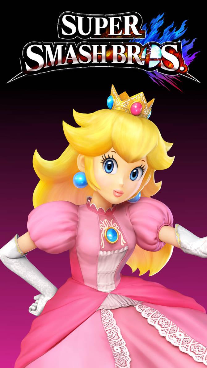 Smash 4 Wallpaper (Phone) - Princess Peach by ...