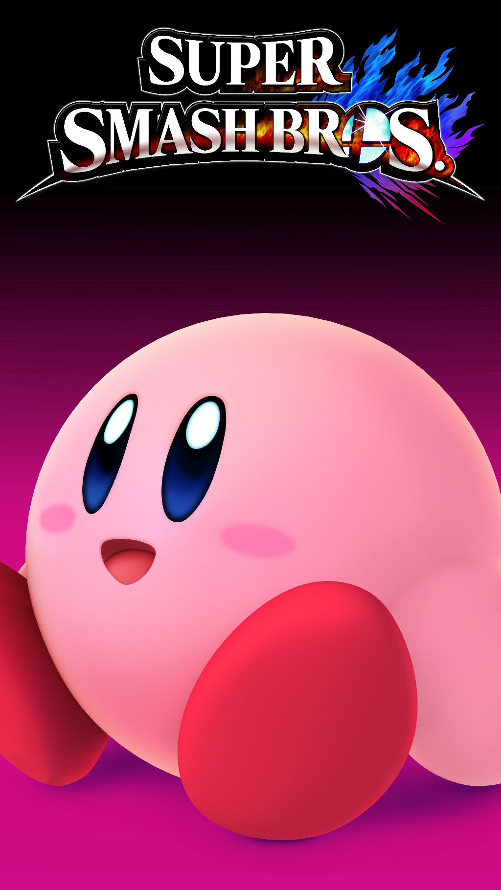 Smash 4 Wallpaper Phone Kirby By Thewolfgalaxy On Deviantart