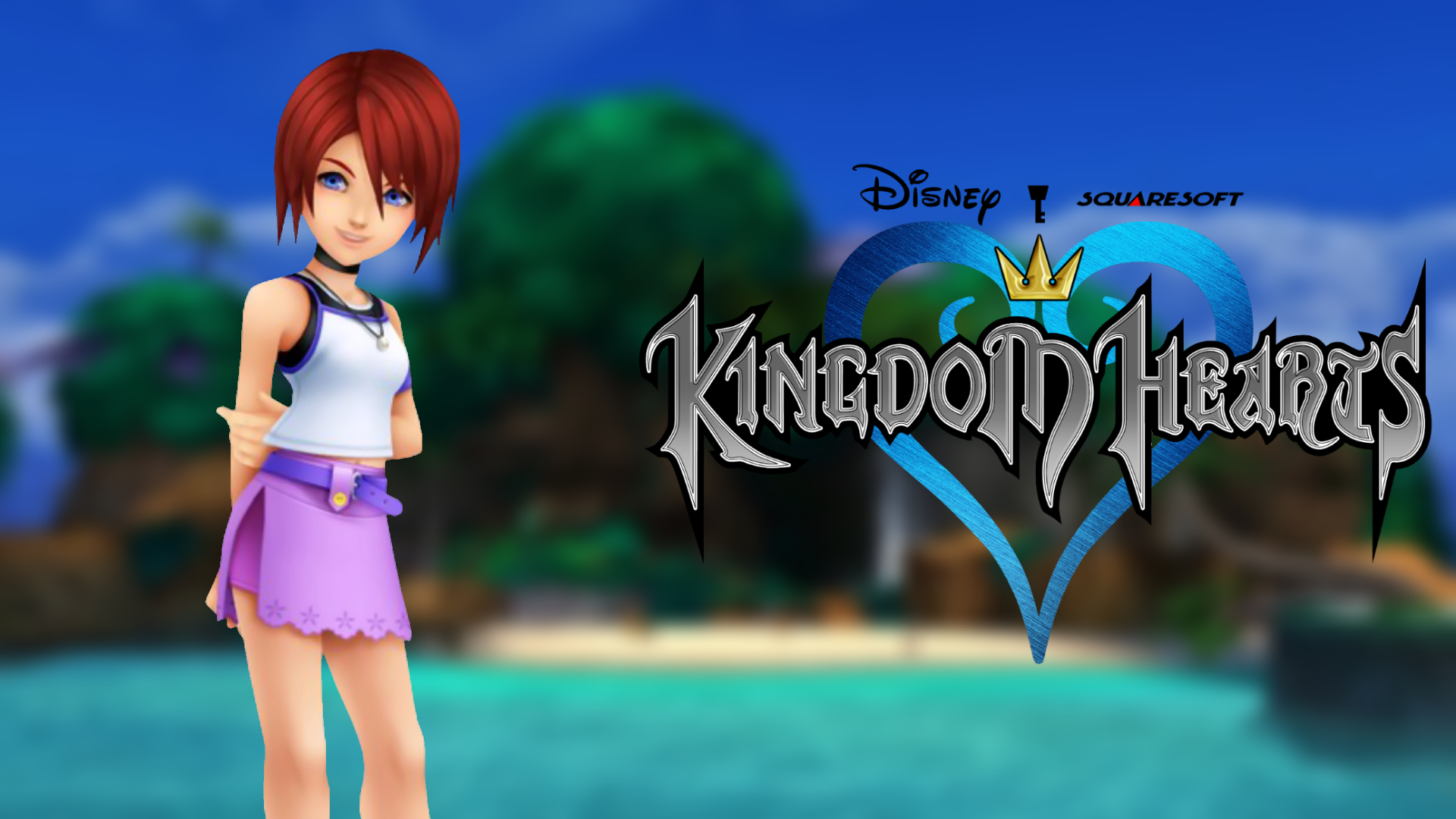 Kingdom Hearts Wallpaper - KH1 Kairi by TheWolfGalaxy on ...
