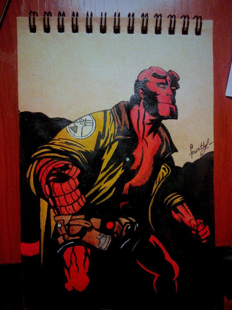 Hellboy by TheFourthEl