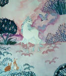 The unicorn and the butterfly