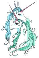 Unicorn love by Feilan
