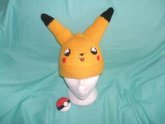 Pikachu hat by Feilan