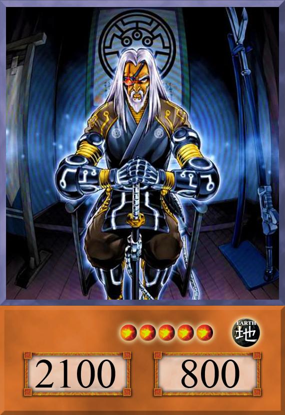 spwa-en009 master of the six samurai spwa-fr009 vf//super Yu-gi-oh